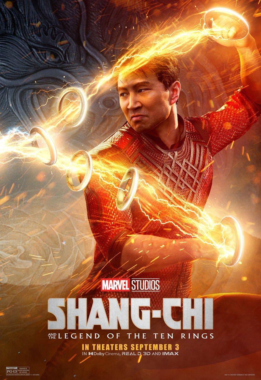 Marvel dévoile une nouvelle affiche US - Shang-Chi et la Légende des Dix  Anneaux (actualité)