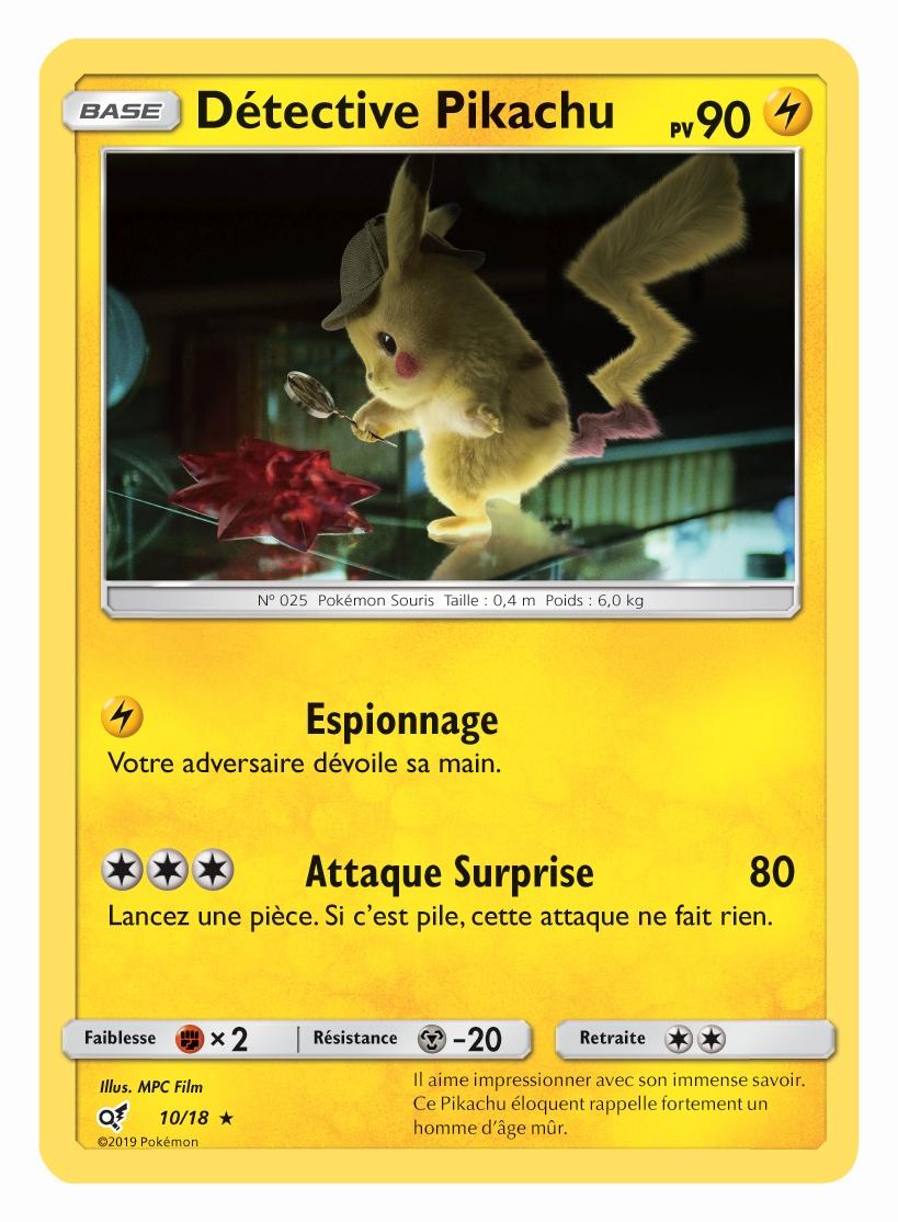 Découvrez 5 Nouvelles Cartes Du Film Pokémon Detective
