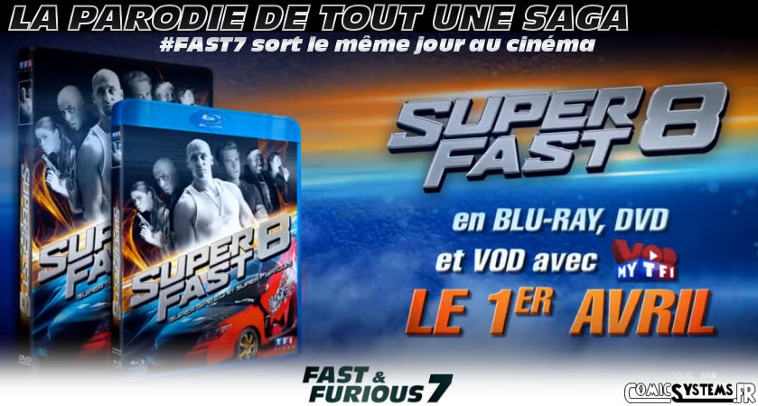 superfast 8 la super parodie des fast furious chez tf1 vid o fast furious 7 actualit. Black Bedroom Furniture Sets. Home Design Ideas