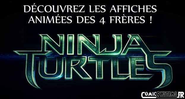 Des affiches anim es pour les 4 tortues ninja ninja turtles 3d actualit - Les 4 tortues ninja ...