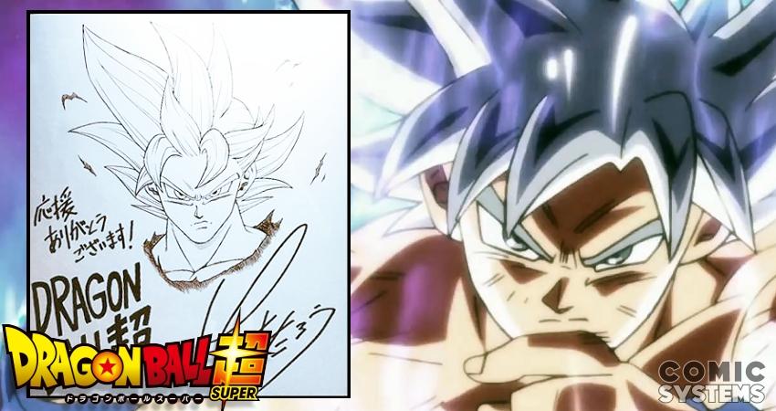 Toyotaro Dévoile Son Goku Ultra Instinct à L Occasion Du