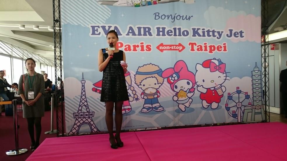 Eva air fait d coller l 39 avion hello kitty paris mangas et japanime actualit - Bureau de representation de taipei ...