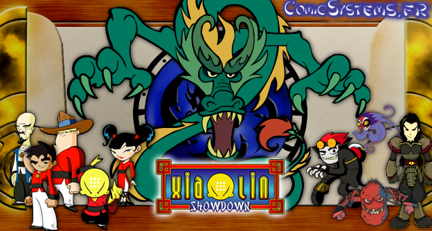 Xiaolin showdown jeu porno